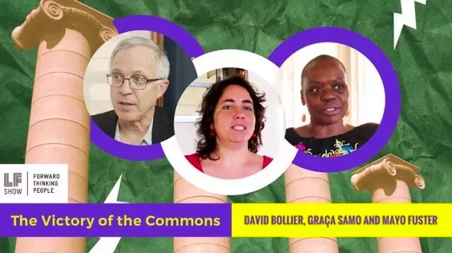 """url """"New Economy Models: the Victory of the Commons"""" Mayo Fuster interviewed @ Laura Flanders Show"""
