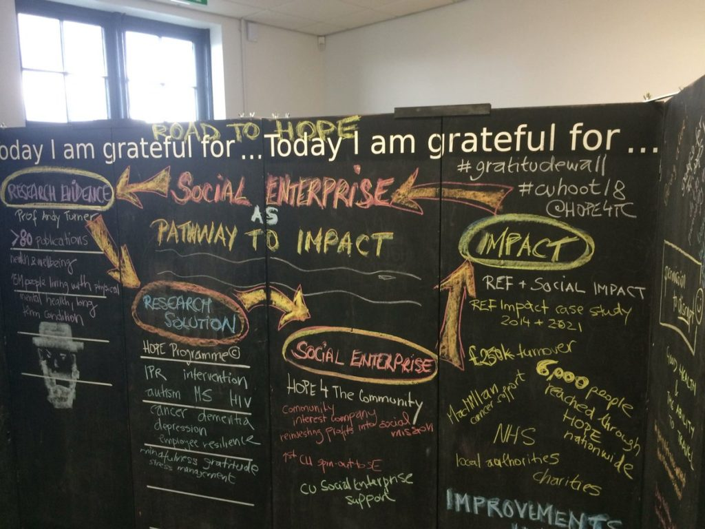 """DT59i7iW4AEM48A """"Rethinking Research"""" unconference at Coventry University"""