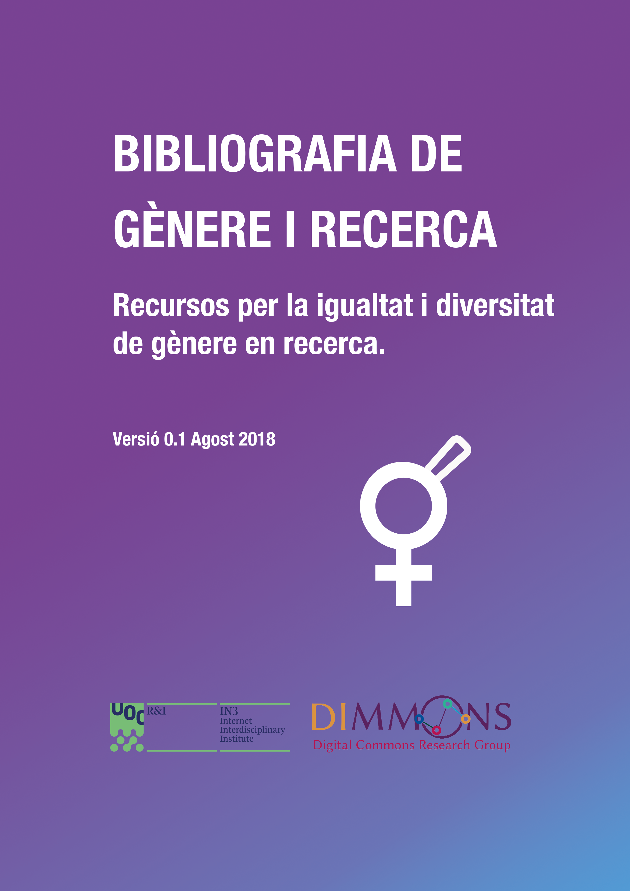 portada genere2 Bibliography of Gender and Research