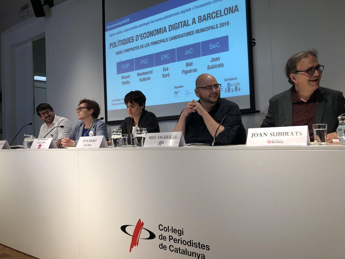 D6s4X97XYAAd OC La UOC organitza el primer debat sobre economia de plataforma amb les principals candidatures a Barcelona
