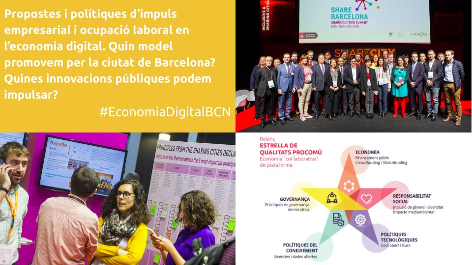 Slides Debat 16M 3 La UOC organitza el primer debat sobre economia de plataforma amb les principals candidatures a Barcelona