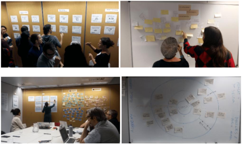 Workshop sessions research team Strategic plan 2018-2023
